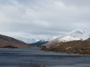 View on the way to Skye and the Kyle of Lochalsh